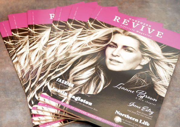 Northern Revive Magazine on display