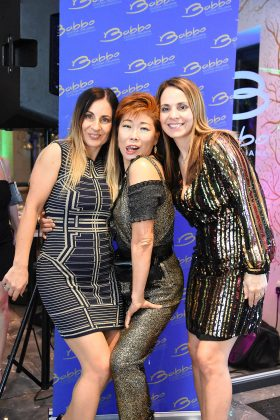 Goldie Cheung from X Factor fame with owners Laura and